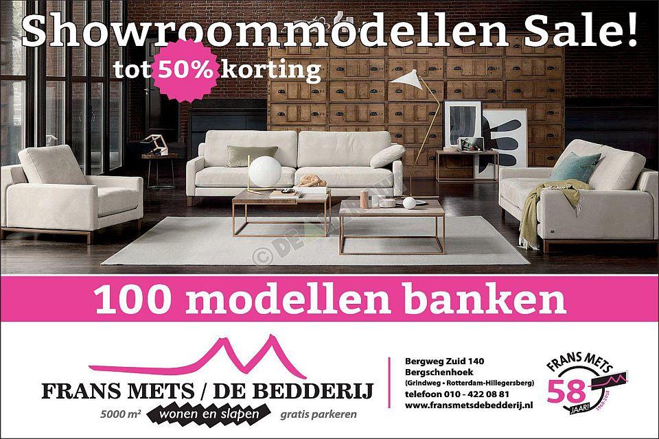 Bankstellen 50 Korting.Showroom Banken Modellen Aanbieding Rotterdam