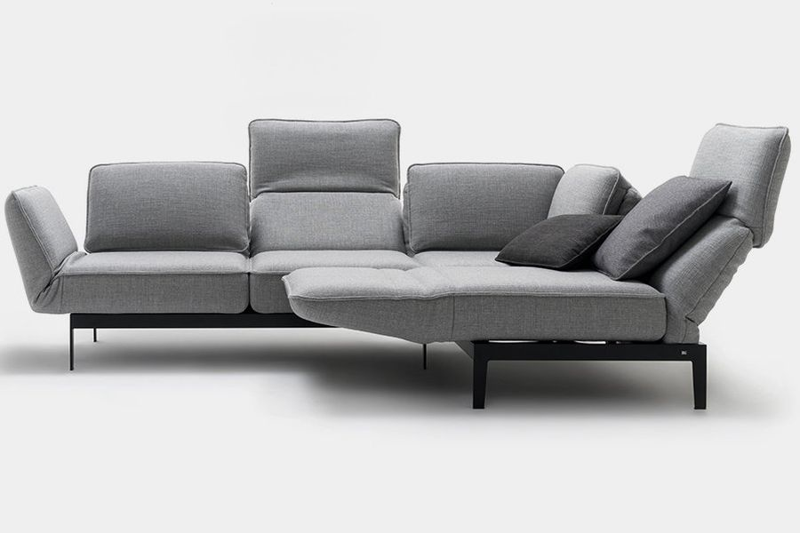 rolf benz mera bank hoekbank en longchair rotterdam. Black Bedroom Furniture Sets. Home Design Ideas