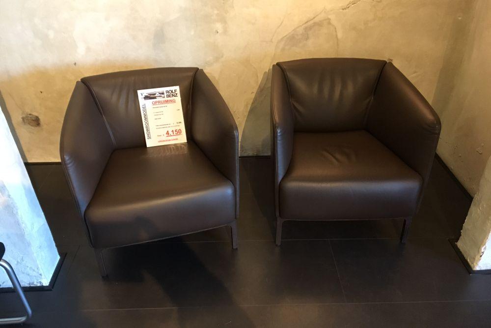 Rolf benz se 392 fauteuils uitverkoop for Rolf benz outlet stuttgart